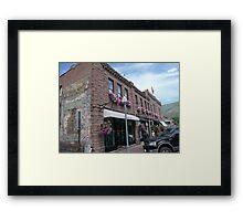 Aspen Streetscape. Framed Print