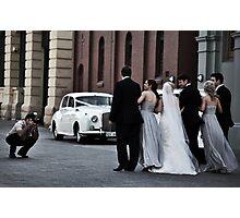 Street Romance Photographic Print