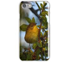 Oreothlypis Ruficapilla - Nashville Warbler | Center Moriches, New York iPhone Case/Skin