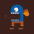 Blue Fly Snack by Nahum Ziersch