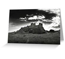 Bamburgh Castle in Northumberland, UK Greeting Card