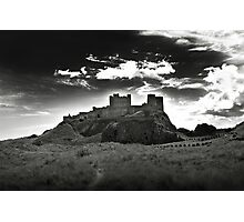 Bamburgh Castle in Northumberland, UK Photographic Print