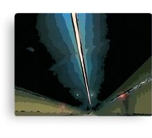 GF freeway tunnel Canvas Print