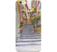 Bellagio Street Aquarelle iPhone Case/Skin