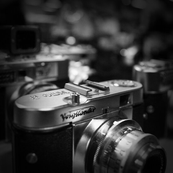 Aging Gracefully - Voigtlaender vintage camera by Eric Strijbos