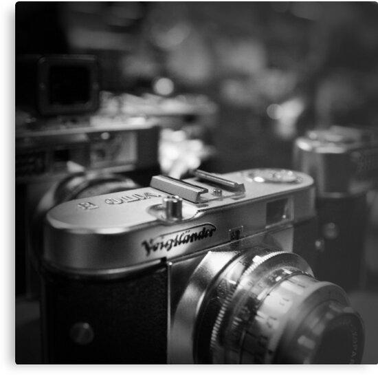 Aging Gracefully - Voigtlaender vintage camera by Eric Strijbos