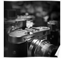 Aging Gracefully - Voigtlaender vintage camera Poster