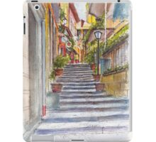 Bellagio Street Aquarelle iPad Case/Skin