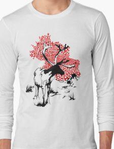 Reindeer drawing Long Sleeve T-Shirt