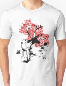 Reindeer drawing Unisex T-Shirt