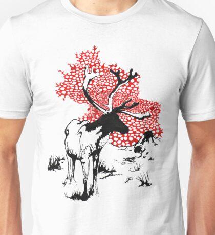 Reindeer drawing Unisex T-Shirt