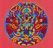 Himalayan Inspirations`The Hidden Buddha' by sharpie