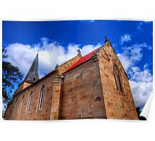 St John's Roman Catholic Church @ Richmond Tasmania Poster