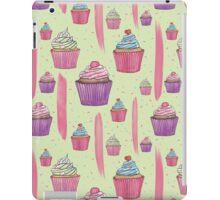 Cupcakes & Brush Strokes iPad Case/Skin