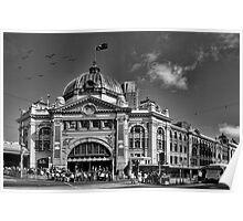 Flinders Street Station - Melbourne Poster