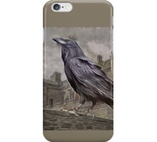 Corvus, The Raven King....from the Tales of Triskelion...1490 A.D. iPhone Case/Skin