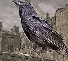 Corvus, The Raven King....from the Tales of Triskelion...1490 A.D. by Kricket-Kountry