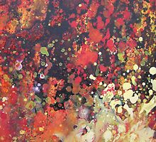 Inferno Abstract 2 by Susan Duffey