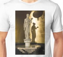 The Goddess and Her Shadow Unisex T-Shirt