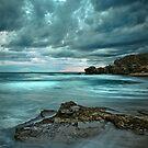 Turbulent Turquoise by Matt Bottos
