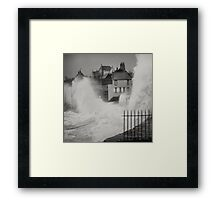 Wet front Framed Print
