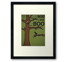 Boo boo... Framed Print