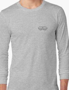 fists of fury == haml & sass Long Sleeve T-Shirt
