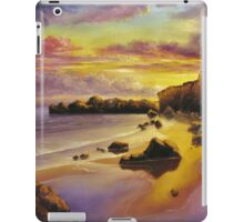 GOLDEN SUNSET iPad Case/Skin