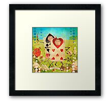 Playing Cards Framed Print