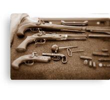Civil War Guns Canvas Print