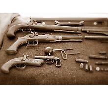 Civil War Guns Photographic Print