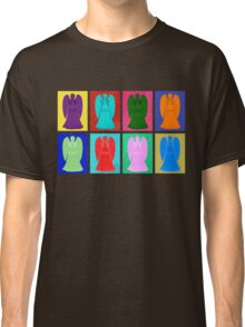 Weeping angels Pop Art Colour Classic T-Shirt