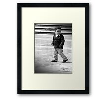 I Think those Birds are following me........help? Framed Print