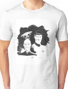 Startrek: Picard and Spock Unisex T-Shirt