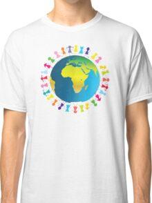 Children around planet Earth Classic T-Shirt
