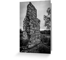 The Old Wall Greeting Card