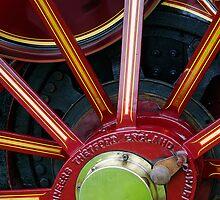 Traction engine wheel by buttonpresser