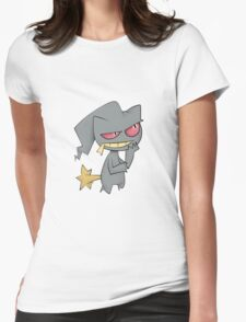 What is Banette Thinking? Womens Fitted T-Shirt