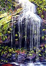 Adelina Falls, Blue Mountains by Linda Callaghan