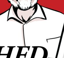 Hammond's fried dinosaurs Sticker