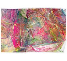 Joseph's Abstract of Many Colors Poster