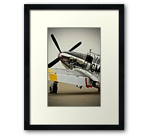 Betty Jane in waiting Framed Print