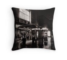 Electric dreams in the rain Throw Pillow