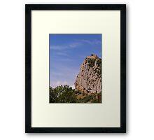 Château de Roquefixade Framed Print