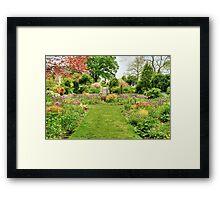 Chanticleer Circle Garden Framed Print