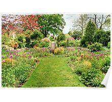Chanticleer Circle Garden Poster