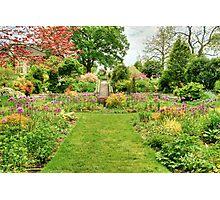 Chanticleer Circle Garden Photographic Print