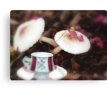 Time for tea in Wonderland Canvas Print