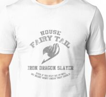 Iron Dragon Slayer of Fairy Tail Unisex T-Shirt