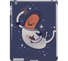 SPACE SAUSAGE IN OUTER SPACE, YAY!! iPad Case/Skin
